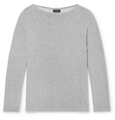 Ermenegildo Zegna Cotton-Blend Terry T-Shirt