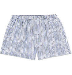 Ermenegildo Zegna Striped Cotton Boxer Shorts