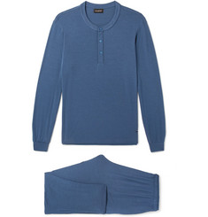 Ermenegildo Zegna Stretch Modal-Blend Pyjama Set