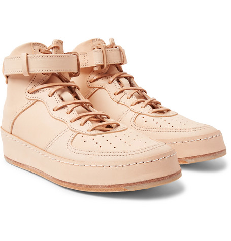 Mip 01 Leather High Top Sneakers by Hender Scheme