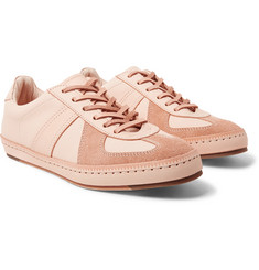 Hender Scheme - MIP-05 Suede-Trimmed Leather Sneakers
