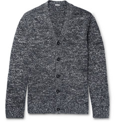 Massimo Alba Mélange Linen and Silk-Blend Cardigan