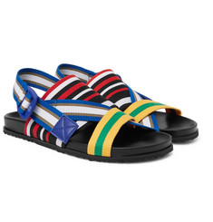 Maison Margiela - Striped Grosgrain Sandals