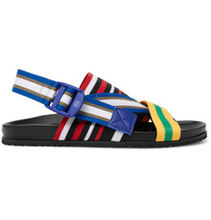 Maison Margiela Striped Grosgrain Sandals