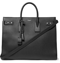 Saint Laurent - Sac De Jour Large Full-Grain Leather Tote Bag