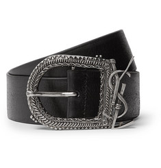 Saint Laurent 4cm Leather Belt