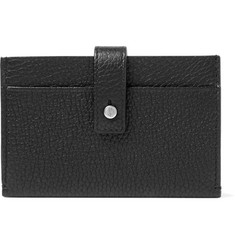Saint Laurent - Full-Grain Leather Cardholder