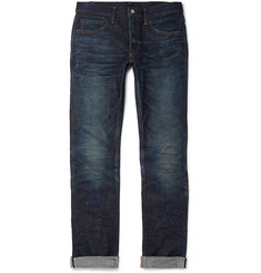 Fabric-Brand & Co Doran Slim-Fit Selvedge Denim Jeans