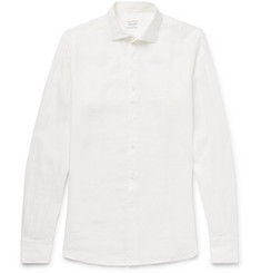 Incotex - Slim-Fit Linen Shirt