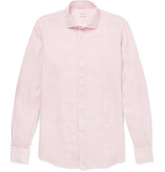Incotex Slim-Fit Linen Shirt