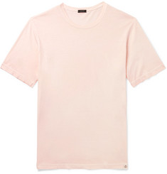 Incotex Garment-Dyed Cotton-Jersey T-Shirt