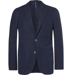 Incotex Unstructured Linen and Cotton-Blend Blazer