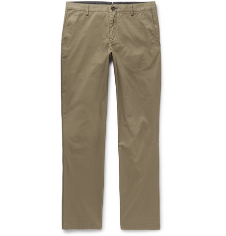 Slim-fit Cotton-twill Chinos