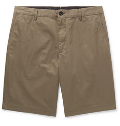 Burberry Cotton-Twill Shorts