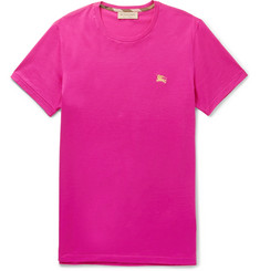 Burberry - Cotton-Jersey T-Shirt