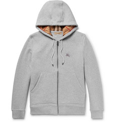 Burberry Cotton-Blend Jersey Hoodie