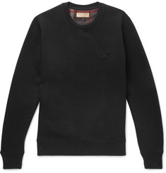 Burberry - Fleece-Back Cotton-Blend Jersey Sweatshirt