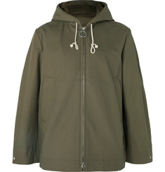 Acne Studios Melt Cotton-Canvas Hooded Parka