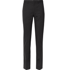 Acne Studios Dark-Grey Brobyn Slim-Fit Stretch-Wool Suit Trousers