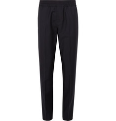 Acne Studios - Ryder Slim-Fit Tapered Wool and Mohair-Blend Drawstring Trousers