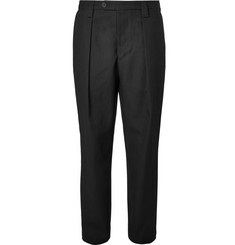 Acne Studios Airan Pleated Cotton Trousers