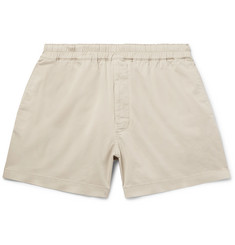 Acne Studios Alvin Stretch-Cotton Twill Drawstring Shorts