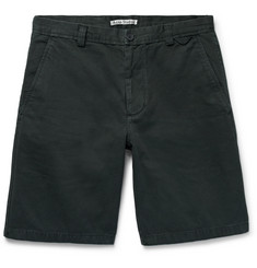 Acne Studios Isher Cotton-Twill Shorts