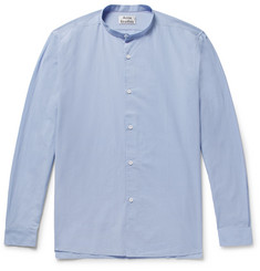 Acne Studios Pine Slim-Fit Grandad-Collar Cotton-Poplin Shirt