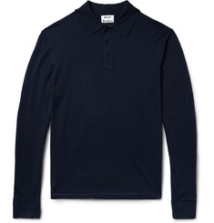 Acne Studios - Nadir Knitted Wool Polo Shirt