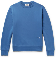Acne Studios Faise Loopback Cotton-Jersey Sweatshirt