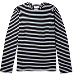 Acne Studios Jess Striped Cotton T-Shirt