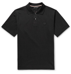 Acne Studios Newark Cotton-Piqué Polo Shirt