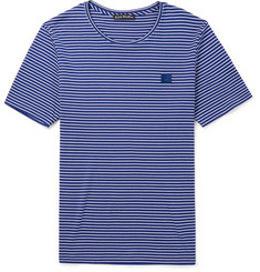 Acne Studios Nele Striped Cotton-Jersey T-Shirt