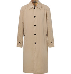 Burberry Reversible Cotton-Gabardine Trench Coat