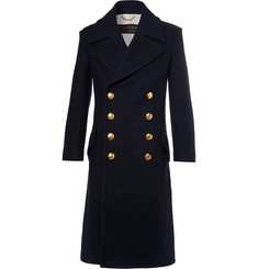 Burberry Double-Breasted Wool And Cashmere-Blend Coat