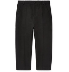 Rick Owens Slim-Fit Cotton-Blend Twill Trousers