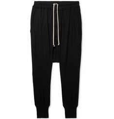 Rick Owens DRKSHDW Cotton-Jersey Sweatpants