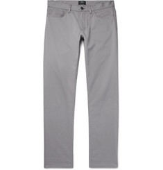 Theory Haydin Slim-Fit Stretch-Cotton Twill Trousers