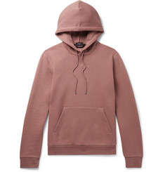 Theory Essential Loopback Cotton-Blend Jersey Hoodie