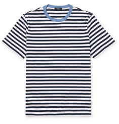 Theory Striped Cotton T-Shirt