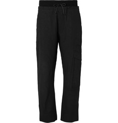 Isabel Benenato - Slub Cotton and Linen-Blend Cargo Trousers