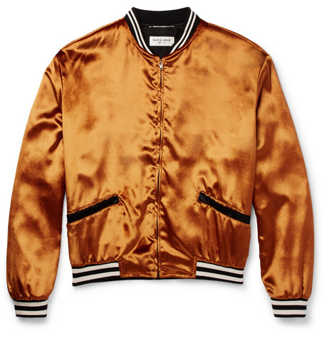 Velvet Bomber Jacket - Gold