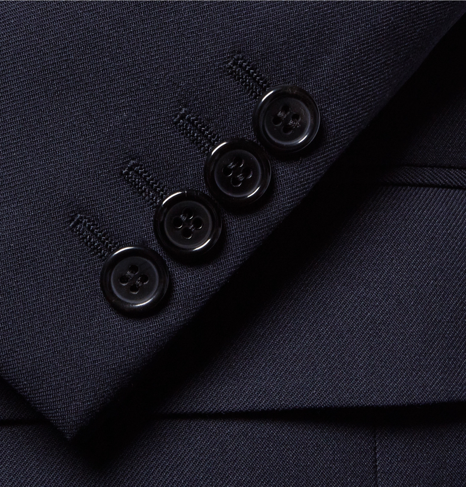 93e25b253d76c Slim Fit Wool Virgin Gabardine Saint Suit Laurent Blue 4qawxaZn6E