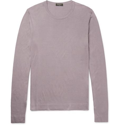 Mulberry Silk Berluti Yacu Berluti Sweater Yacu qRBWHtpP