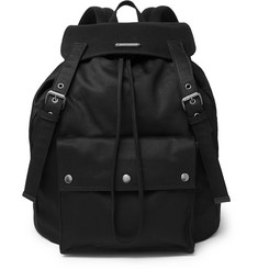 Saint Laurent Noe Canvas Backpack