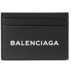 Balenciaga Printed Leather Cardholder