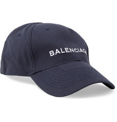 Balenciaga - Embroidered Cotton-Twill Baseball Cap