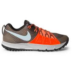 Nike Running Zoom Wildhorse 4 Rubber-Trimmed Mesh Sneakers