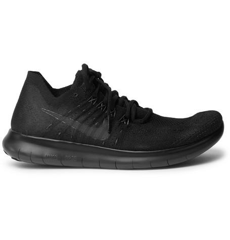 Free Rn Flyknit Sneakers by Nike Running