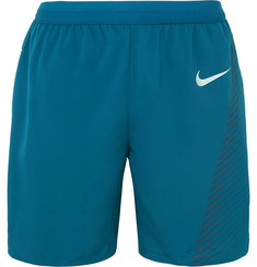 Nike Running Flex Distance Printed Dri-FIT Mesh Shorts